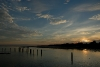 Sunset at Parit Jawa