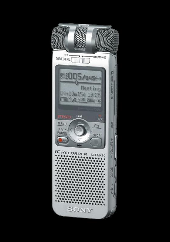 Sony ICD-MX20