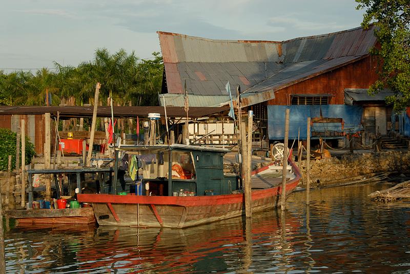 Dawn at Parit Jawa