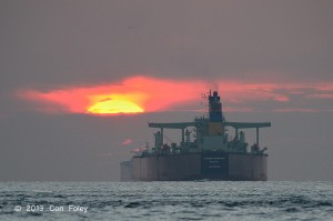 crude oil, Greek owner, registered in Liberia